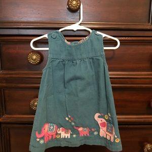 Jojo Maman Bebe Elephant Jumper Dress 🐘